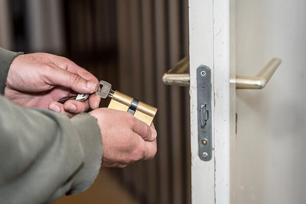 Edmonton high rise office and apartment door lock repair and installation.